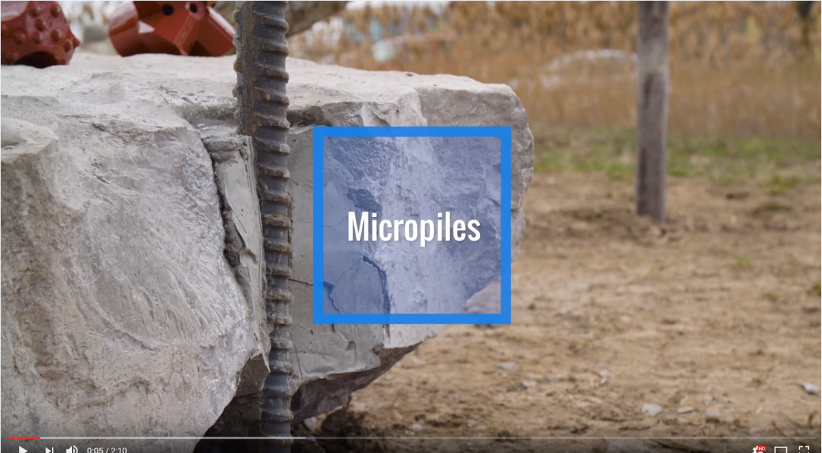 Micropile Video