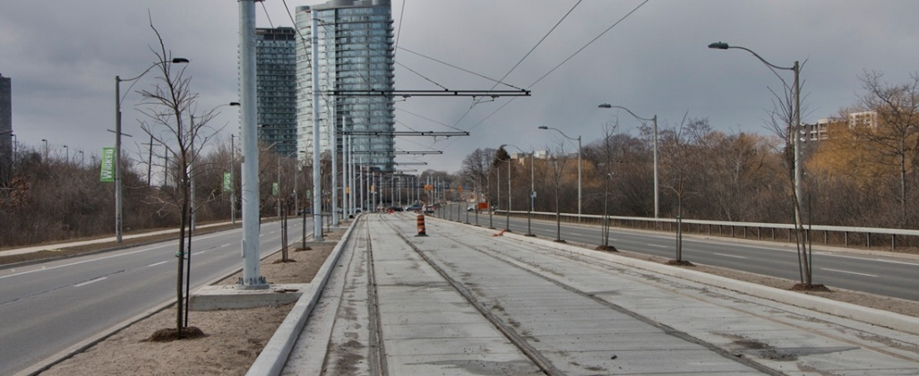 TTC Queensway Track Rehabilitation