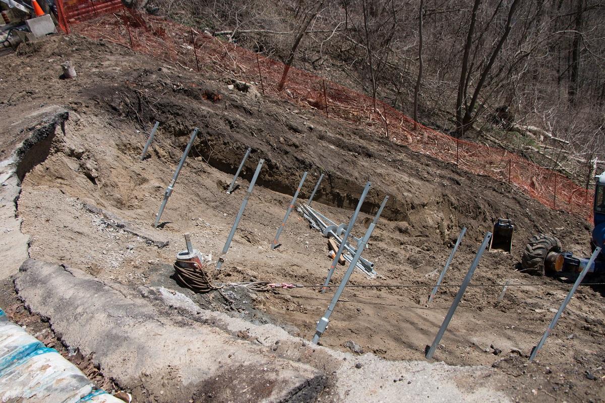 Emergency Slope Stabilization | Details - EBS Geostructural
