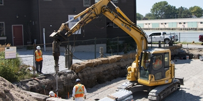FAQ - How Water Table Affects the Installation of Helical Piles & Micropiles banner